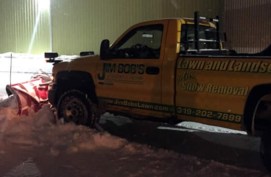 Iowa Snow Plowing and Removal Service Areas near me Lawn Care Property Management