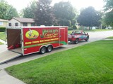 Jim Bob's Lawn Care Truck and Trailer